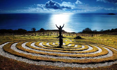 Labyrinth at Cornwall