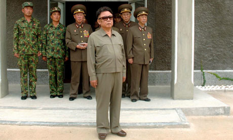undated file photo released 11 Spetember 2006 of North Korean leader