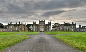 Seaton Delaval Hall in Northumberland