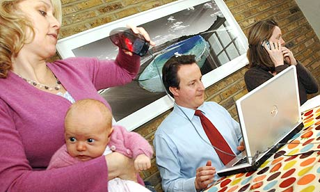 David Cameron meets mumsnet users