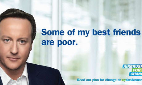 David Cameron spoof poster