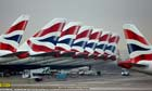 British Airways Aircraft At London Heathrow Airport