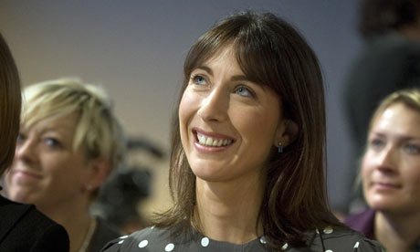 Samantha Cameron at last year's Tory conference