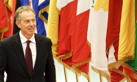 Tony Blair in Brussels