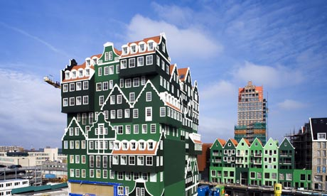 Much of a dutchness the hotel inntel zaandam art and for Designhotel holland