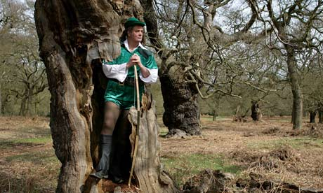 Stephen Moss as Robin Hood