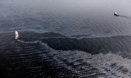 Marée noire : image satellite, échec du couvercle