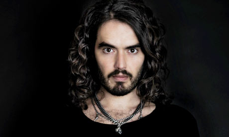 russell brand. Comedian Russell Brand