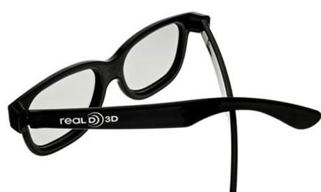 Pair 3D Cinema Glasses. Image shot 2010. Exact date unknown.