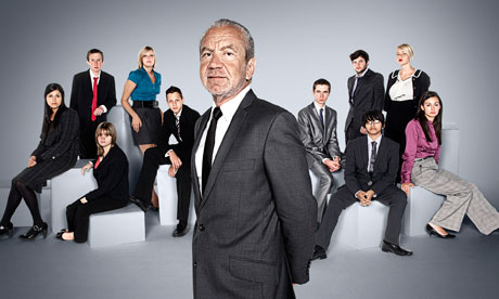 Lord Sugar and his Junior Apprentices, who will compete for a £25,000