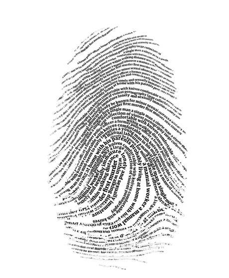 Fingerprint artwork