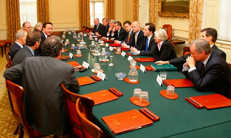 David Cameron Begins To Put Together His Coalition Cabinet