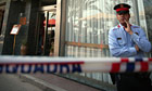 A policeman at the hotel where two British children were found dead