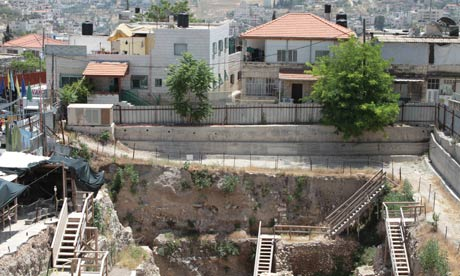 The dig in Silwan