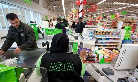 Asda's store in Wembley