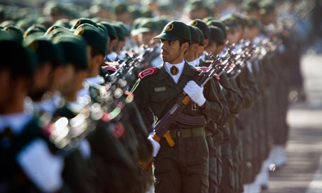 Iran Revolutionary Guards