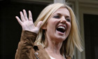 Geri Halliwell lin Glasgow for the X Factor auditions