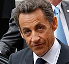 French President, Nicolas Sarkozyn