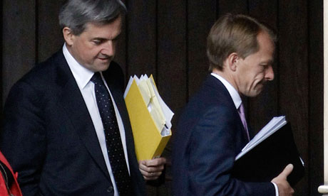 Chris Huhne and David Laws