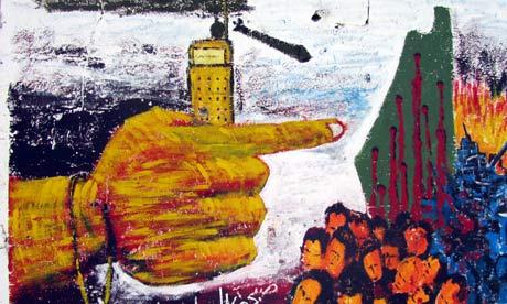 Collaborator mural