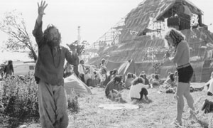 Glastonbury hippies 1971
