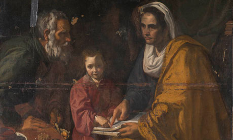 the virgin  17th century
