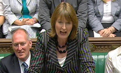 Harriet Harman Prime Minister's Questions