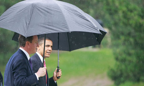 Barack Obama and David Cameron at the G20 summit in June 2010