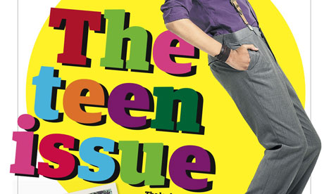 G2's teen issue cover
