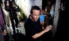 David CameronBandra slum Mumbai 2006