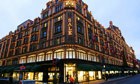 The Harrods department store in central London