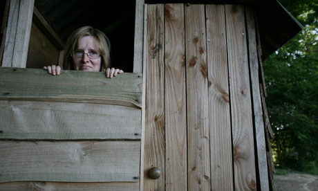 Lucy Mangan encounters the compost toilet