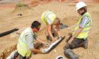 The dig in Sittingbourne