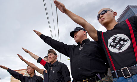 Mongolian neo-Nazi group the Tsagaan Khas
