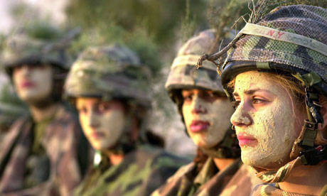 Israeli servicewomen train to become army instructors