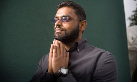 Moazzam Begg imprisoned in Guantanamo