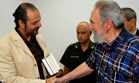 Fidel Castro meets with Daniel Estulin in Havana