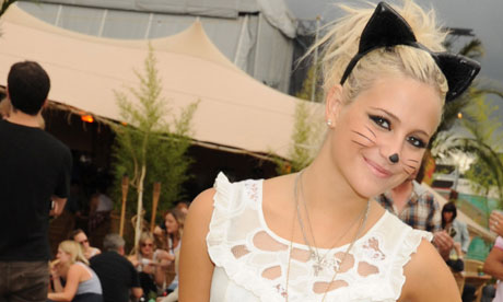 Pixie Lott - is she going up or going down? Photograph: Dave M. Benett ...