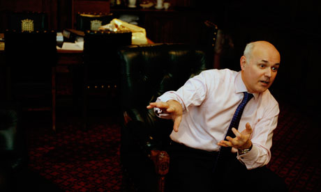Iain Duncan Smith, welfare secretary