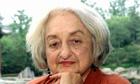 US feminist Betty Friedan