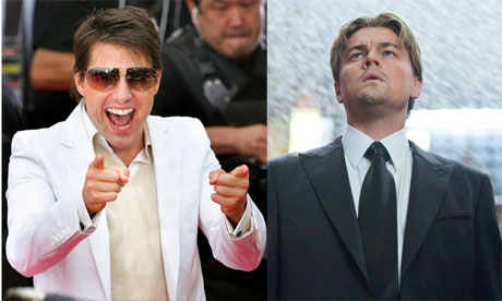 Head to head: Tom Cruise and Leonardo DiCaprio