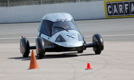 Super-light car wins $5m fuel efficiency prize