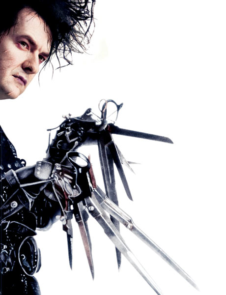 George Osborne as Edward Scissorhands