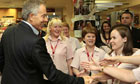Tony Blair Promotes His Autobiography