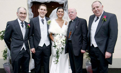 Michaela Harte found dead (From left) Micky Harte, John McAreavey,