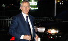 Tony Blair arrives at the Iraq inquiry
