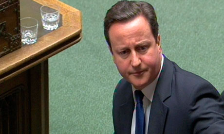David Cameron had a cumming ruse at prime minister's questions, to agree with Ed Miliband