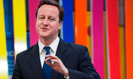 David Cameron visits printing company as unfair dismissal laws relaxed