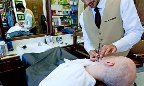 Stuart Jeffries gets a wet shave at Trumper's in St James's, London