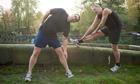 Simon Hattenstone jogging